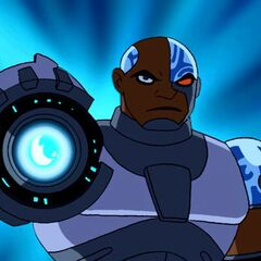 Khary Payton como Cyborg em Teen Titans.