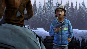 Amid The Ruins - Clementine encontra Rebecca zumbi