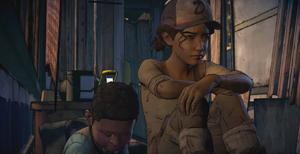 S03E02 - Clementine e AJ escondidos