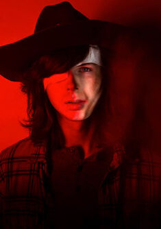 The-walking-dead-season-7-carl-riggs-red-portrait-658