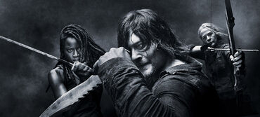 The-walking-dead-season-10-michonne-gurira-daryl-reedus-cci-