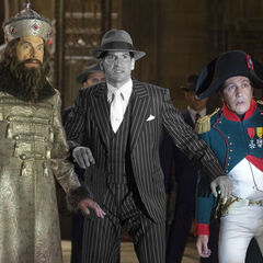 Jon Bernthal como Al Capone em <i>Night at the Museum: Battle of the Smithsonian</i>