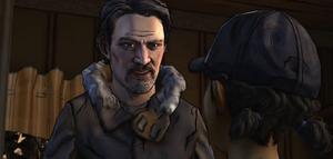 A House Divided - Carver conversa com Clem