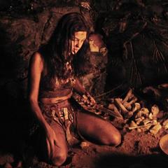 Pollyanna McIntosh como A Mulher em The Woman