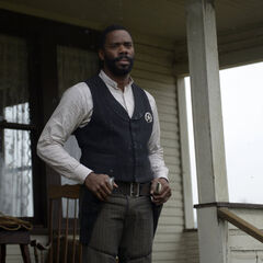 Colman Domingo como Bass Reeves em Timeless.