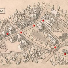 Mapa Ilustrado de Alexandria
