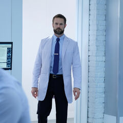 Garret Dillahunt como Dr. Roderick Campbell em The Gifted.