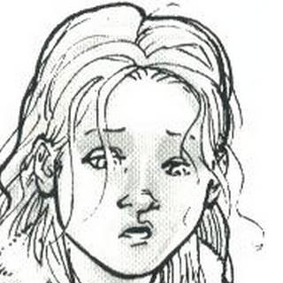 Sophia na versão ilustrativa de <a href=