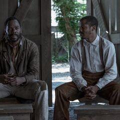 Colman Domingo como Hark em The Birth of a Nation.