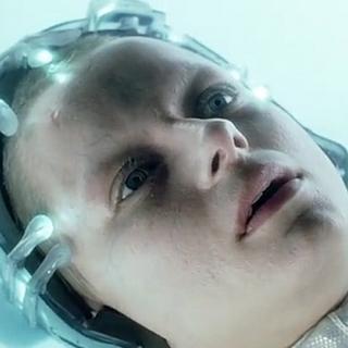 Samantha Morton como Agatha em Minority Report