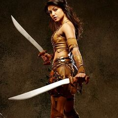 Karen David como Layla em The Scorpion King 2: Rise of a Warrior.