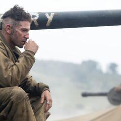 Jon Bernthal como Grady Travis em <i>Fury</i>