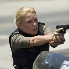 Laurie Holden como Olivia Murray em <i>The Shield</i>
