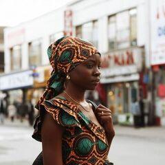 Danai Gurira como Adenike Olumide Balogun em Mother of George