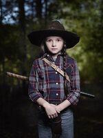 Cailey Fleming as Judith Grimes - The Walking Dead Season 9