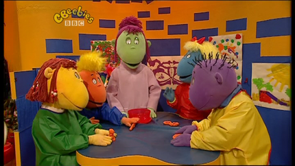 'Modelling Clay' - Tweenies