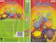 Tweenies Colours Are Magic Australian Release