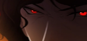 Mu Jin's eyes