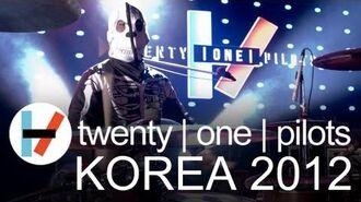 Twenty One Pilots - Korea 2012