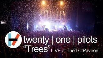 Twenty one pilots- Trees (LIVE)