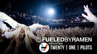 Twenty one pilots- Signing To Fueled By Ramen