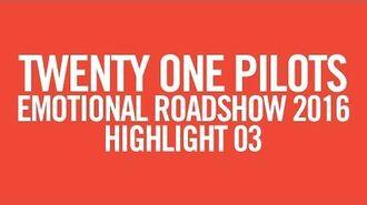 Twenty one pilots ERS2016 Highlight 03