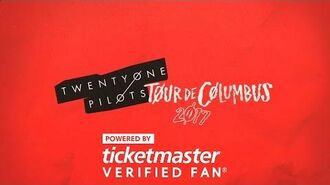 Twenty One Pilots Tour De Columbus powered by Ticketmaster VerifiedFan