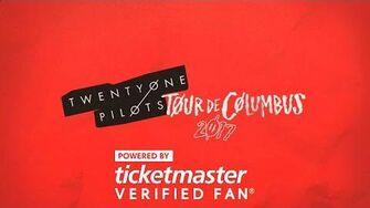 Twenty One Pilots Tour De Columbus powered by Ticketmaster VerifiedFan