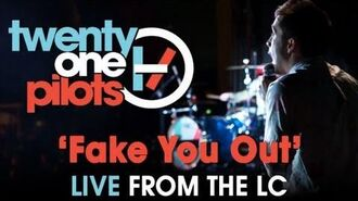 "Twenty one pilots- Live from The LC ""Fake You Out"""