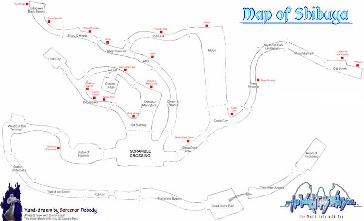 Shibuya Map 4