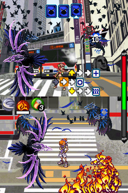 Image result for the world ends with you combat