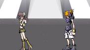 Neku and Shiki Parting