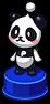 Battle Object - Panda Statue