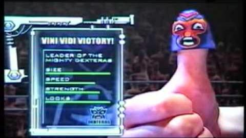 Thumb Wrestling Federation Vini Vidi Victory vs Captain Carpal