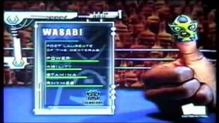 Thumb Wrestling Federation Bucks Gazillion vs Wasabi