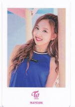 TT Japan Photocard Nayeon