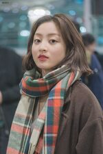 Incheon International Airport Arrival 181103 Jihyo 4