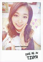 Birthday Tzuyu 2016