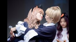 JeongMo fake kissing