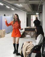 SBS song Daejeon pre-recording behind Dahyun