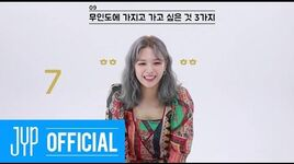 "TWICE ""MORE & MORE"" 60 Seconds Speed Interview JEONGYEON"