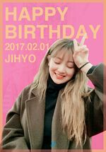Birthday Jihyo 2017