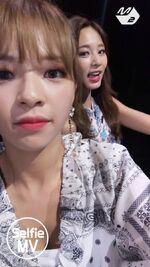 Dance The Night Away Selfie MV Jeongyeon & Tzuyu