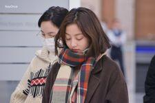 Incheon International Airport Arrival 181103 Jihyo 6