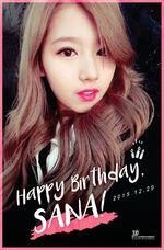Birthday Sana 2015