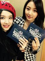 Nayeon and Jihyo M Count Down