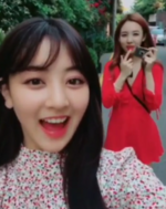 Nayeon and Jihyo IG Update