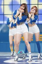 M COUNTDOWN 160428 Jihyo