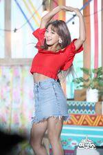 Music Core 180714 Jihyo