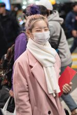 Incheon International Airport Arrival 181103 Dahyun 7